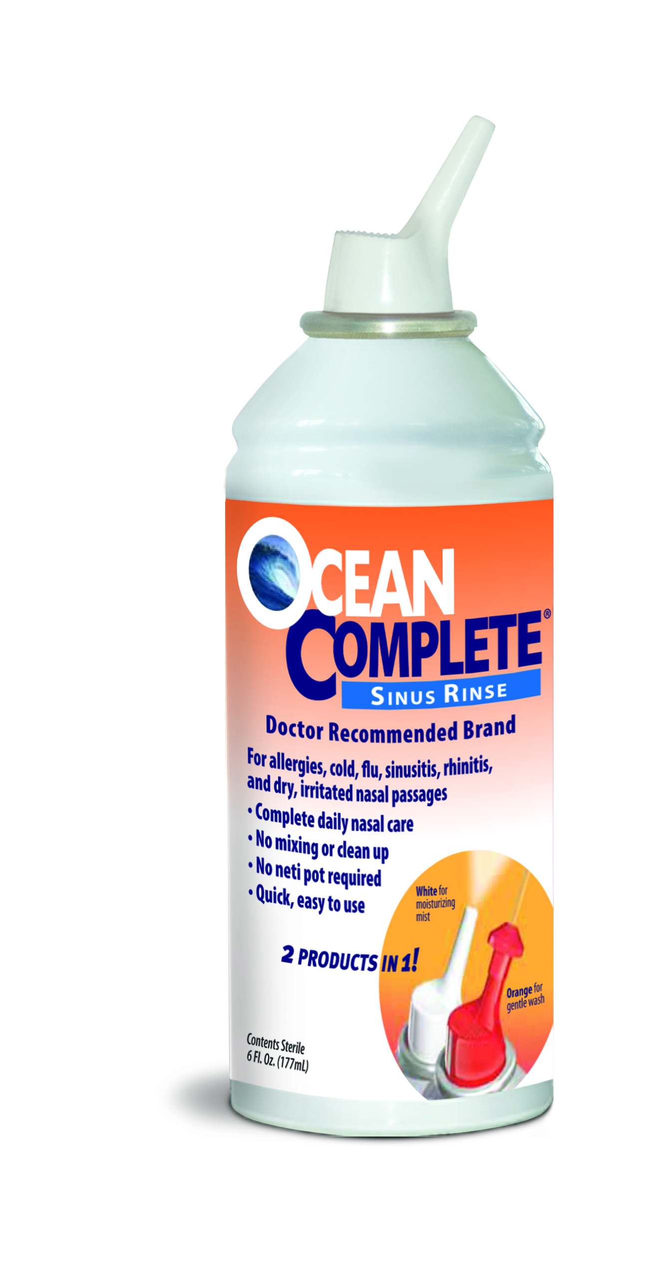 Ocean® Saline Nasal Care Products Video Review