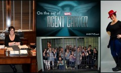 On the set of Agent Carter