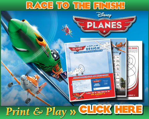 Disneys Planes Race To The Finish