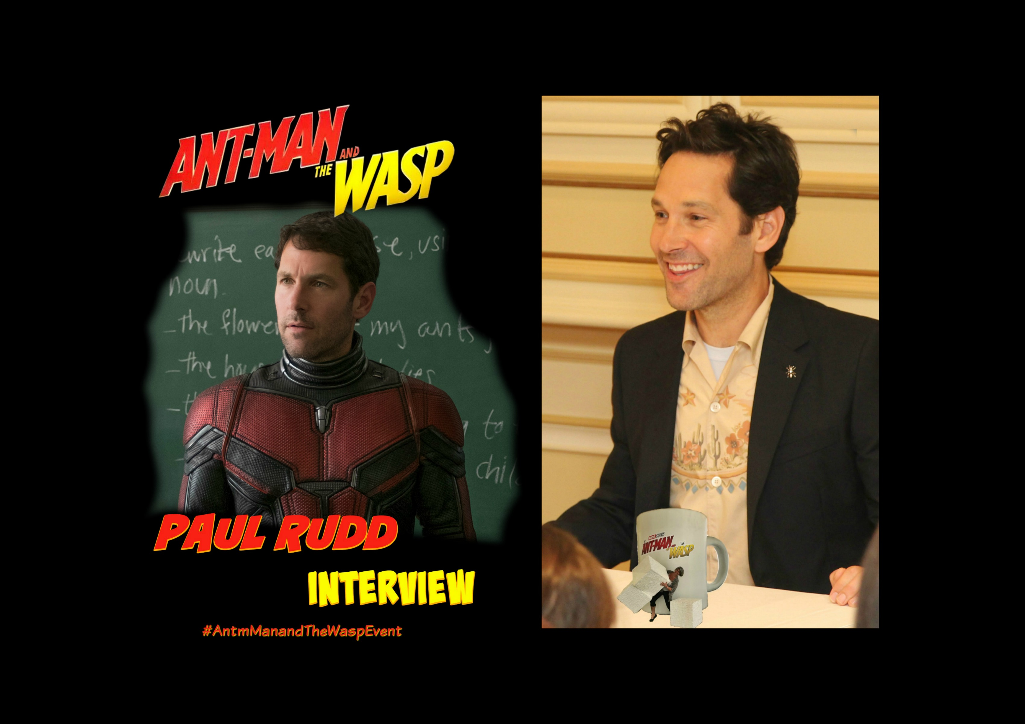 Paul Rudd Ant-Man and The Wasp Interview-3