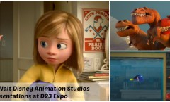 Pixar and Walt Disney Animation Studios Presentations at D23 Expo