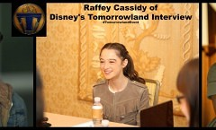 Raffey Cassidy of Tomorrowland