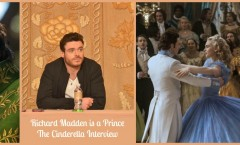 Richard Madden is a Prince  The Cinderella Interview