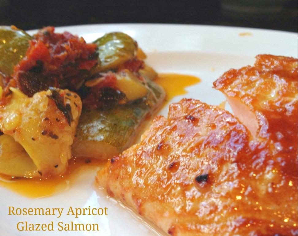 Rosemary Apricot Glazed Salmon - Recipe - Trippin With Tara