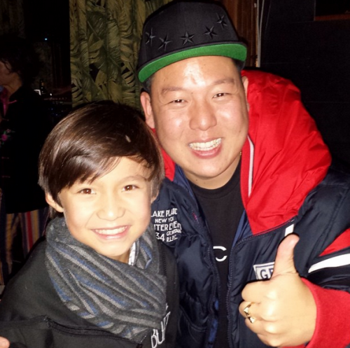 The real Eddie Huang and Forrest Wheeler Photo Credit: http://instagram.com/wheeler_forrest
