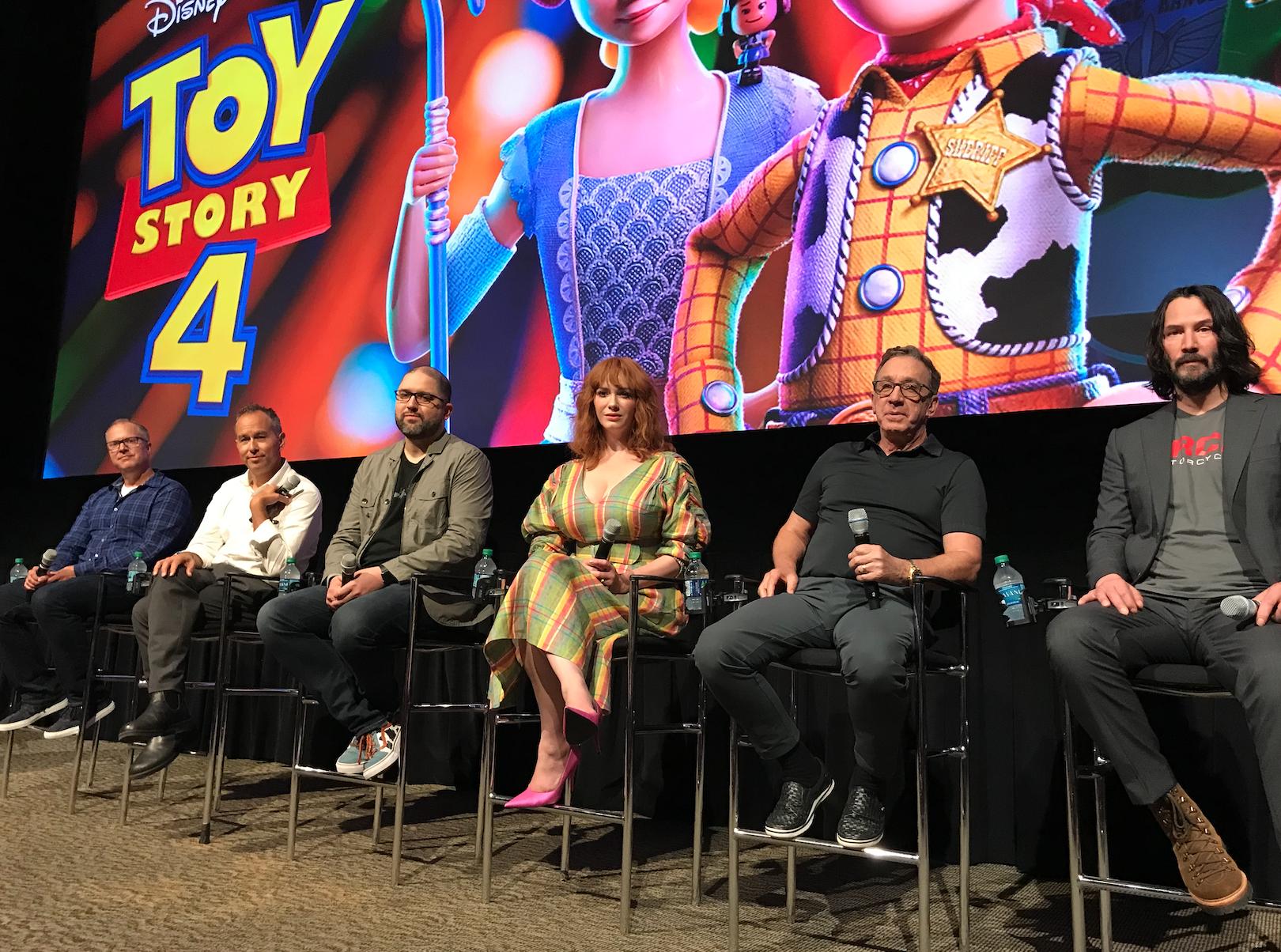 Toy Story 4 cast