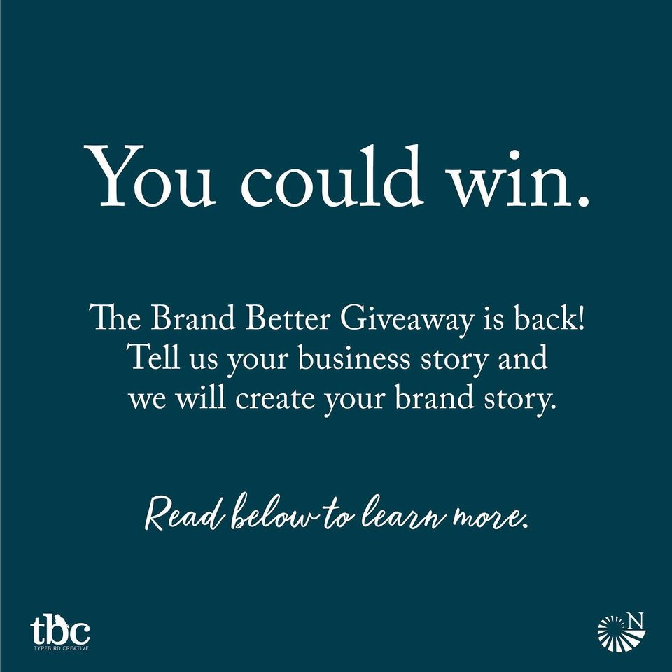 Brand Better Giveaway