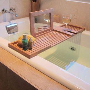 teak Bath Tray