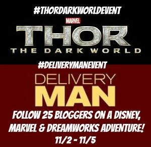 #ThorDarkWorldEvent and #DeliveryManEvent