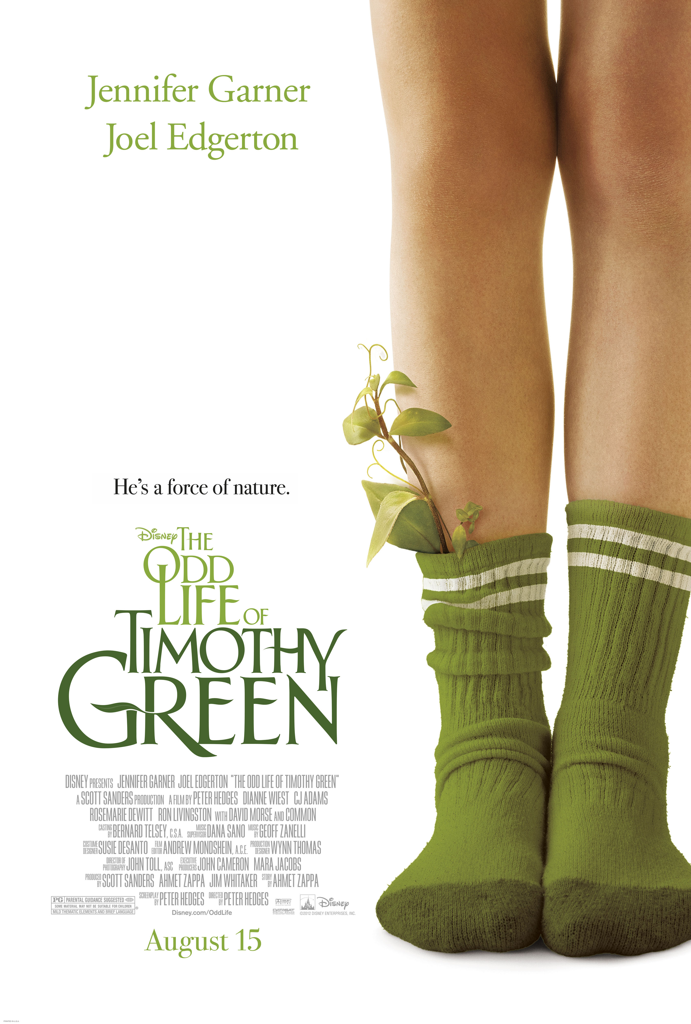 THE ODD LIFE OF TIMOTHY GREEN opens in theaters everywhere on Wednesday, August 15th!