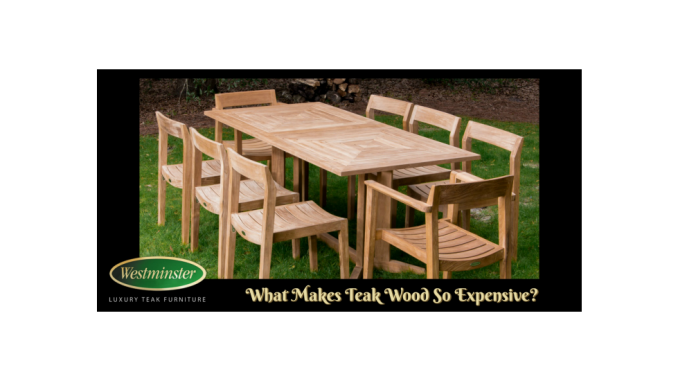 What Makes Teak Wood So Expensive