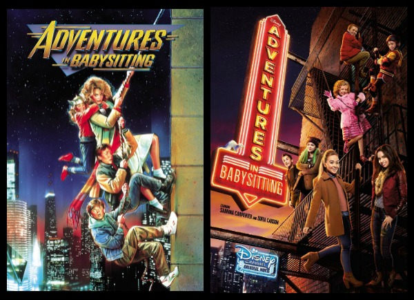 adventures in babysitting then and now