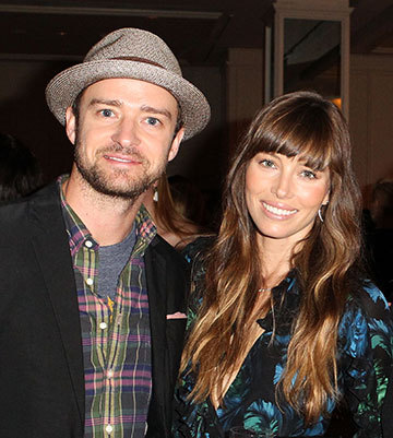 Mr and Mrs Timberlake - Jessical Biel