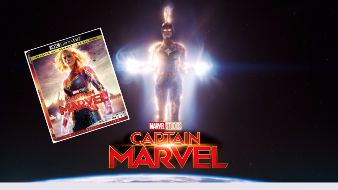 captain marvel at home