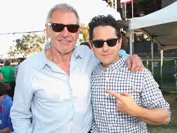 Harrison Ford and JJ Abrams via Disney