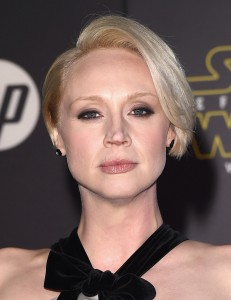 Gwendoline Christie via Disney and gettyimages