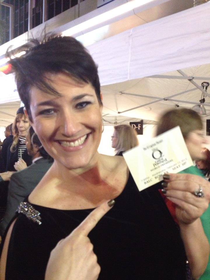Oz tthe Great and Powerful Premiere El Capitan Theatre I got my ticket!