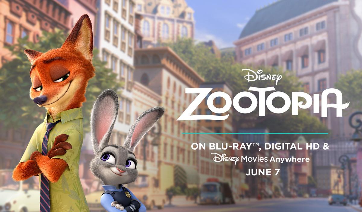 Zootopia Blu-ray Bonus Features