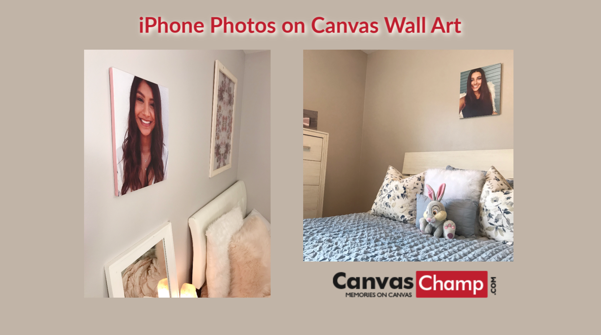 iPhone Photos on Canvas Wall Art from Canvas Champ