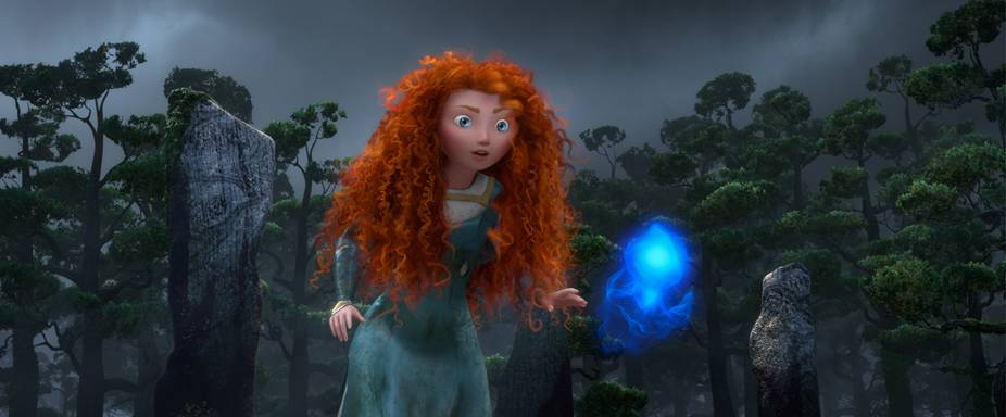 Merida and the WILL O' THE WISPS