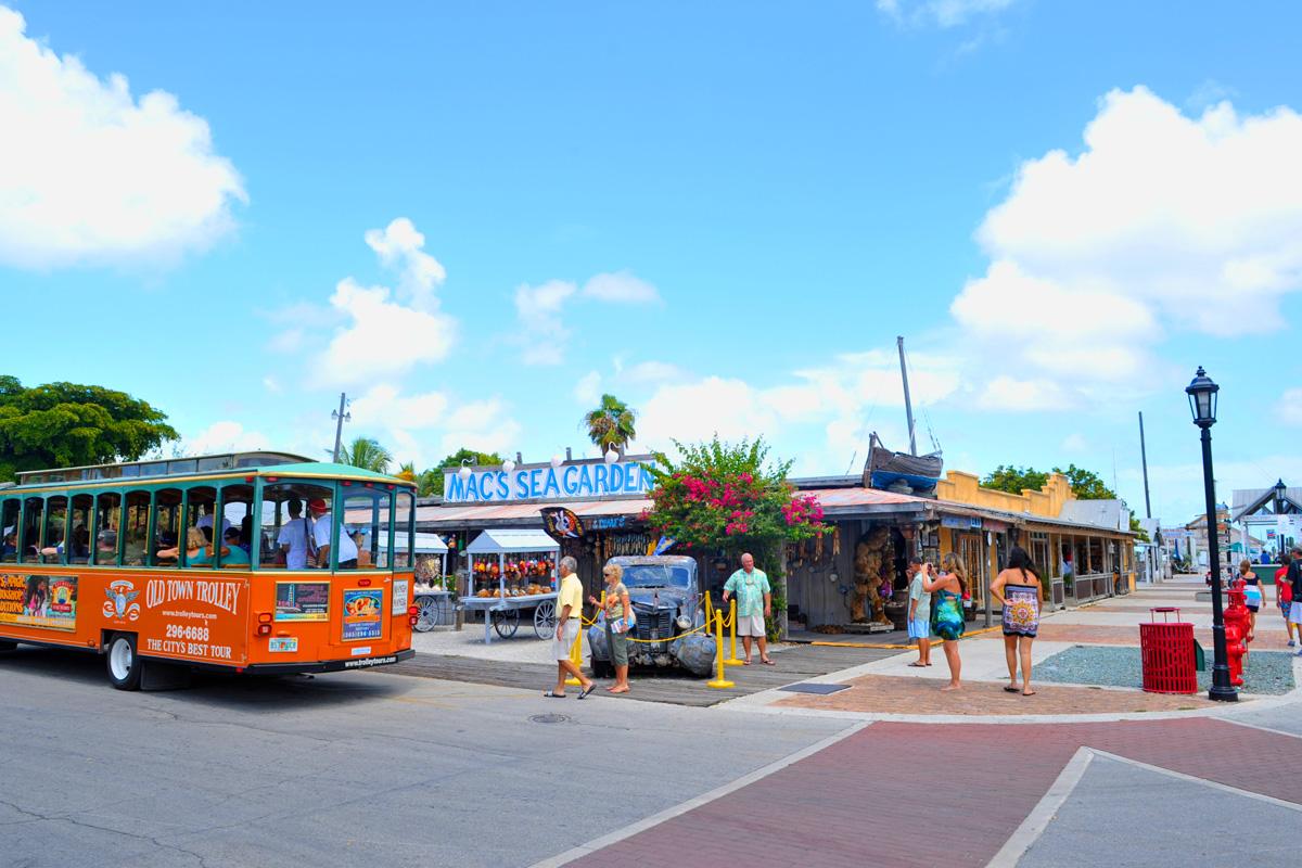 Hop On Hop Off Key West Trolley
