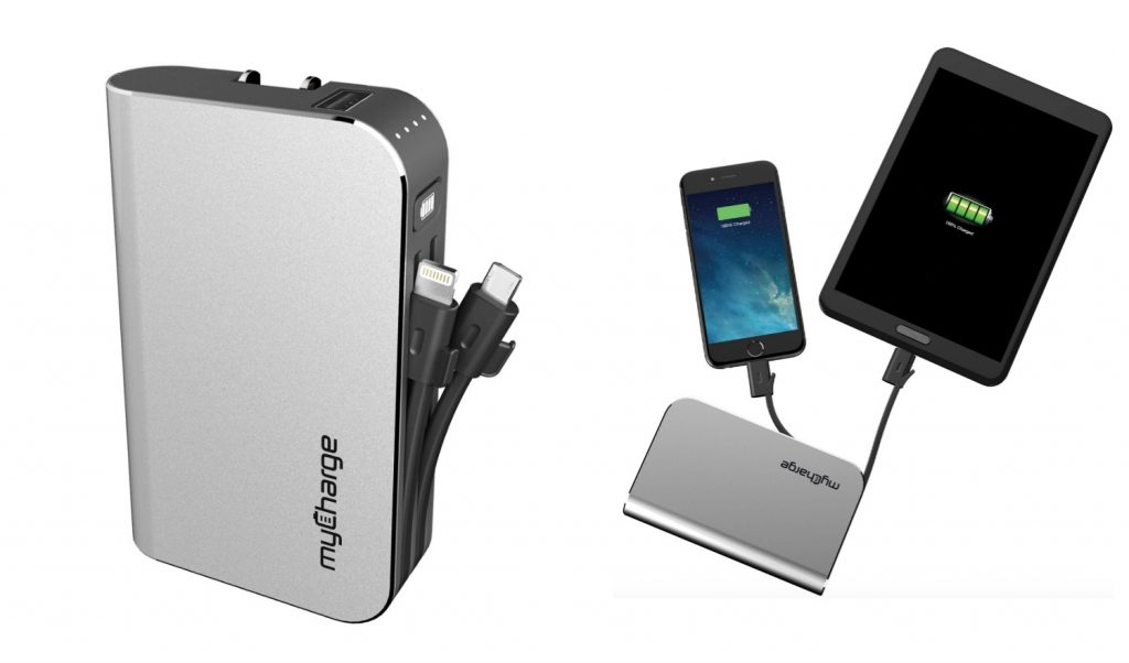 myCharge HubPlus Portable Charger For iPhone, Android and USB
