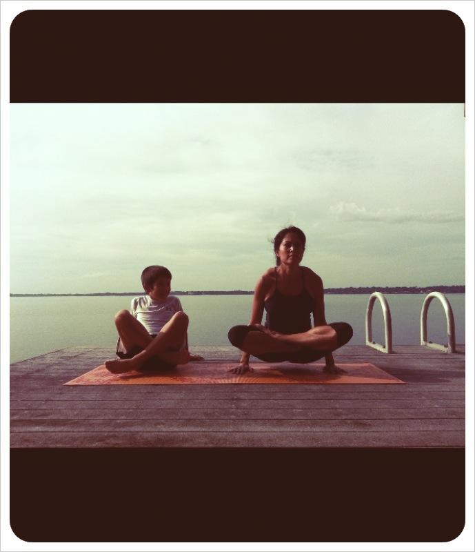 Paris Carter yoga