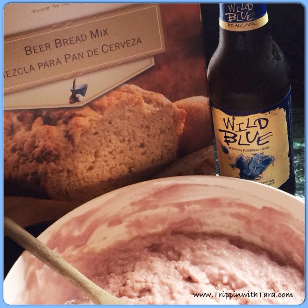Blueberry Lagar Beer Bread Pamperedchef Trippin With Tara