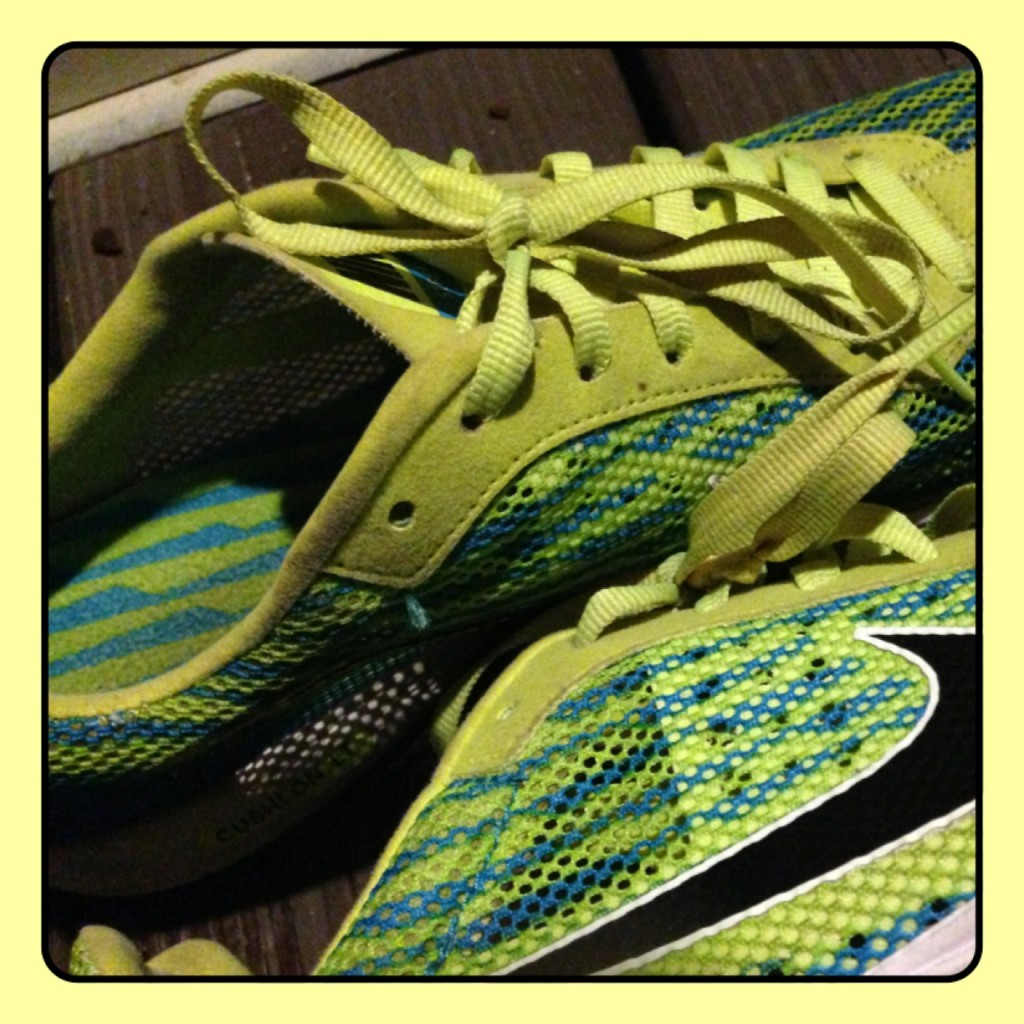 Summer fun Track shoes
