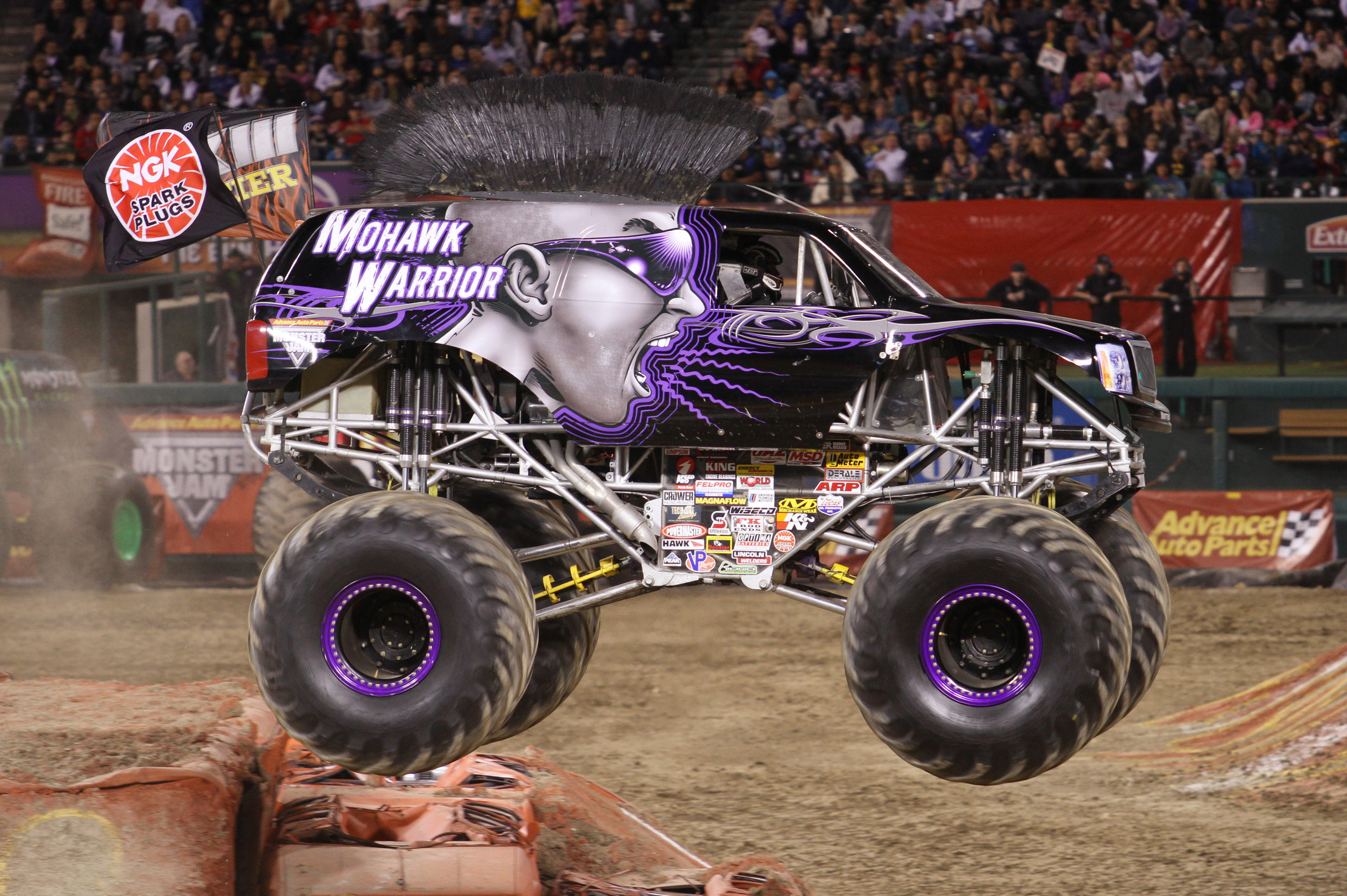 Monster Jam Trucks On Display Free Orlando Monsterjam