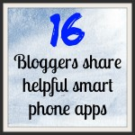 Helpful smart phone apps