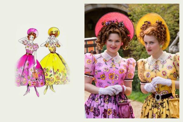 step sisters costume