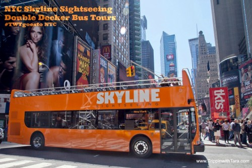 NYC Skyline Sightseeing Double Decker Bus Tours