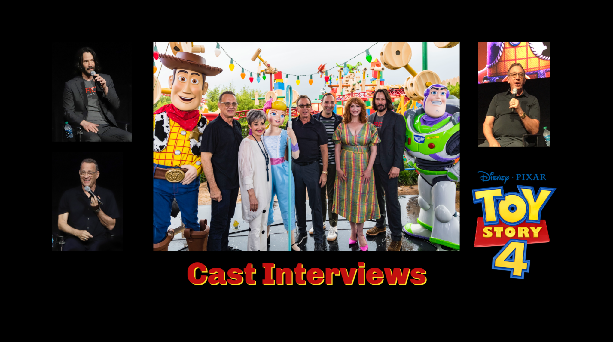 toy story 4 interviews