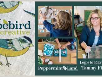 Logo to Rebranding Typebird Creative