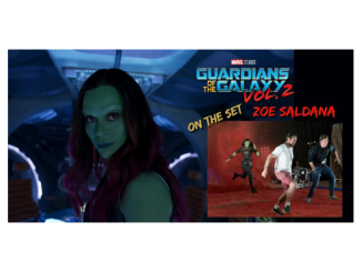 Zoe Saldana Guardians of the Galaxy Vol 2